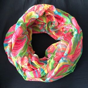 Lilly Pulitzer Pattern Infinity Scarf